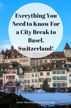 Everything You Need to Know For a City Break to Basel, Switzerland! Basel is located in North West Switzerland, it's known as the cultural capital of Switzerland due to its many museums but there's also a lot more to do. In this post I give you everything you need to know about Basel including when to go, how to get there, how to get around, where to stay, what to do and where to eat! #basel #switzerland #europe #lovebasel