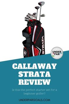 If you're a beginner golfer still deciding if the game is right for you, then the Callaway Men's Strata Set is worth checking out. Golf Clubs For Beginners, Golf Warehouse, Callaway Strata, Golf Stance, Golf Gifts For Men, Golf Day, Miniature Golf, Club Face, Golf Pants