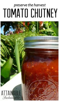 This is one of my favorite recipes for preserving an abundant tomato crop from the vegetable garden. Add it to your homemade pantry!