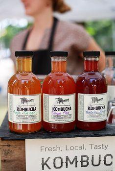 Food & Ferments: The Kombucha & Beet Kvass Experts Kombucha Bottles, Kombucha Tea, Kombucha Brands, Kombucha Flavors, Kombucha Recipe, Beet Kvass, Kombucha How To Make, Fermentation Recipes, Bottle Packaging