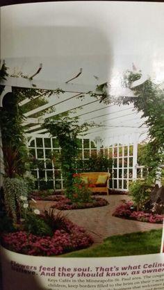 Beautiful center piece for a garden!