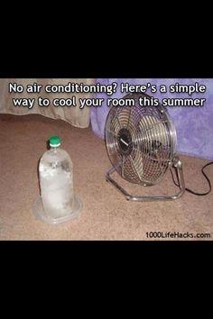 Cooler room temperature?