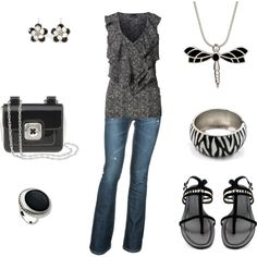 Everyday Casual, created by shirell on Polyvore
