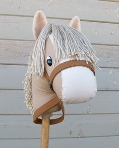 Stick Horse / Hobby Horse | Craft Pattern | YouCanMakeThis.com