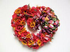 Valentine's Day Wreath  by SandyNewhartDesigns
