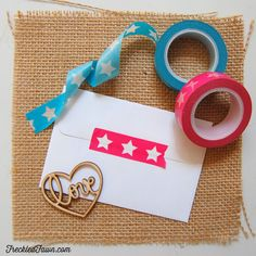 Freckled Fawn   White Starline Washi Selections $4.00