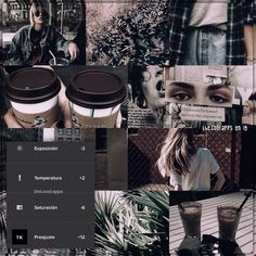 It is very very cool, gives a grunge / dark touch to the photos, . Photography Filters, Photography Editing, Organizar Feed Instagram, Fotografia Vsco, Vsco Effects, Best Vsco Filters, Foto Top, Vsco Themes, Photo Editing Vsco
