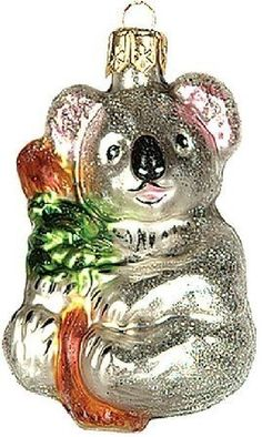 $22.83-$27.25 Wildlife Koala Bear Polish Glass Christmas Ornament -   Product Specifications:  http://www.amazon.com/dp/B0064TRXQ0/?tag=pin2wine-20
