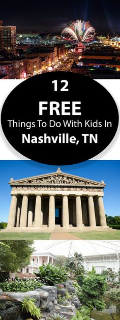 12 Free Things To Do In Nashville, Tennessee With Kids