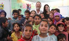 My visit to a Syrian refugee camp by movie mogul HARVEY WEINSTEIN#narenjtree