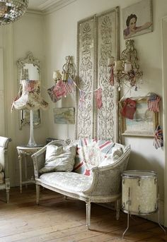 shabby chic apartment | http://apartmentdesigncollections135.blogspot.com