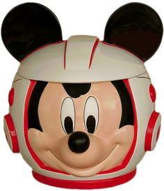 Disney Mission Space Mickey Mouse Cookie Jar