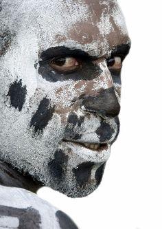 Eyes, Papua New guinea | Eric Lafforgue Photography
