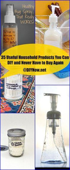 35 Χρήσιμα Οικιακά Προϊόντα Μπορείτε να κάνετε DIY και ποτέ δεν πρέπει να αγοράσετε ξανά