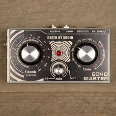 Death By Audio Echo Master Vocal Delay -USED