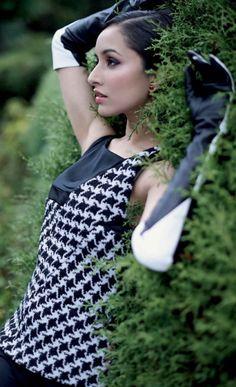 Shraddha Kapoor PhotoShoot for GRAZIA magazine September 2013. #Bollywood #Fashion #Style