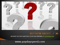 www.paydayspeed.com is transient credits. One genuinely fantastic ordinary for emergency greenbacks related advances that does not have to promise any advantage towards bank for the development. The moneylender does less demand any security or protection.
