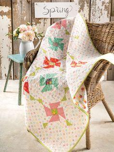 To the Garden Quilt Pattern