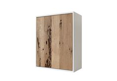 ❒ Wall cabinet with the solid structure made of wood painted white and the door in briccola wood. Made in Italy by De Zotti Design #poeticwood #briccolawood #venicewood #oak #dezotti #venicememories #home #interior #handmade #madeinvenice #madeinitaly