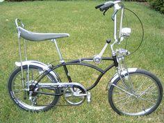 Schwinn Old Fashioned Bike Purple Banana Seat