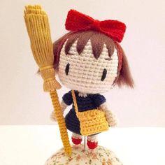 Kiki Inspired -- Crochet Doll Pattern PDF