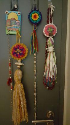 Dream Catcher, Mandala, Home Decor, Beads, Dreamcatchers, Decoration Home, Room Decor, Home Interior Design, Mandalas