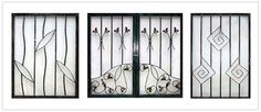 simple wrought iron window grills - Google Search