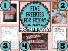 FREE Mother's Day activities