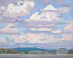 Summer Clouds by Tom Thomson | Art Posters & Prints