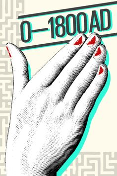 The Illustrated History Of Nail Art #refinery29