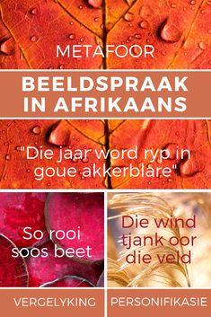 Leer hoe om beeldspraak goed te gebruik in Afrikaans met hierdie puik aanlyn kursus. Klik hier en gaan skryf in.