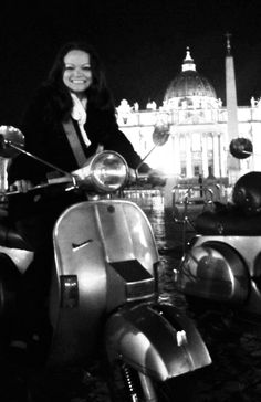 Vespa riding in Rome!  http://angieaway.com/2012/05/01/reflections-from-the-road-16-months-in