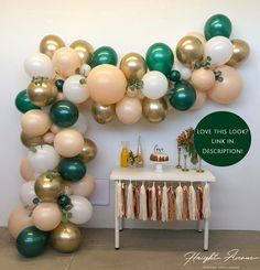 Popular Baby shower Decorations, Baby Shower Invitations, Baby Shower Favors, Baby shower Games, Gender Reveal Party Decorations and Supplies Ballons Pastel, 16 Balloons, White Balloons, Confetti Balloons, Balloon Arch Diy, Balloon Garland, Balloon Decorations, Birthday Decorations, Green Party Decorations