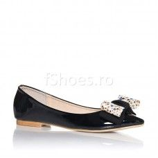Balerini Fantasy - Negru Costume, Flats, Shoes, Fashion, Loafers & Slip Ons, Moda, Zapatos, Shoes Outlet, Fashion Styles