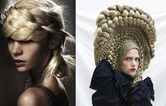 Wig photo shoot
