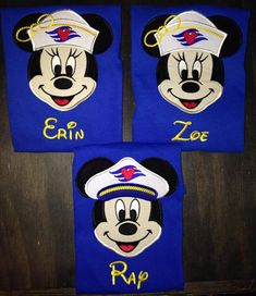 Disney Cruise appliqued shirt by BellaRagazzi on Etsy, $25.00