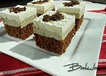 Kávové řezy se šlehačkou Czech Recipes, Ethnic Recipes, Mini Cheesecakes, Nutella, Tiramisu, Food And Drink, Pudding, Sweets, Baking