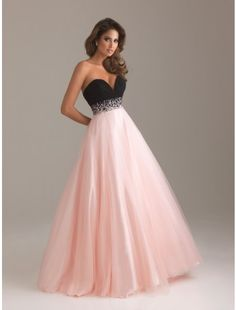 Sweetheart Organza and Tulle Long Prom Dress - Prom Dresses - Special Occasion Dresses