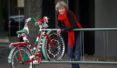 ART ON WHEELS: Isabella, the Italian bike created by Janis Crampton and her family for Knit Nelson, New Zealand