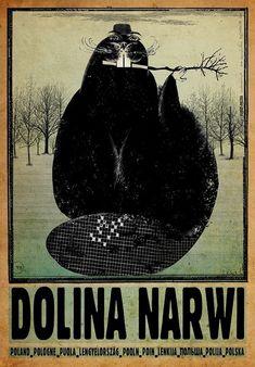 Narew Valley, Poland Dolina Narwii, Polska Kaja Ryszard Polish Poster