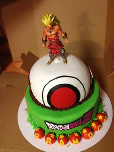 Bola de Dragn cake Pinterest Dragon ball Cake and 3d cakes