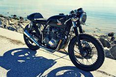 Honda CB500 Café Racer por Steel Bent Customs