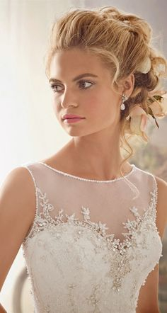lace wedding dress love the top design