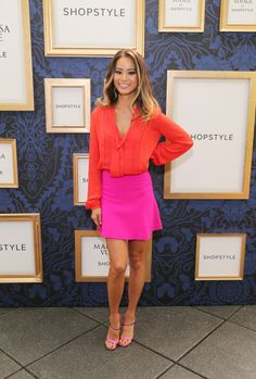 Actress Jamie Chung attends an exclusive preview of the Marchesa Voyage for ShopStyle collection on September 5, 2014 in New York City.  (Photo by Neilson Barnard/Getty Images for ShopStyle)