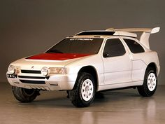 Citroën ZX Rally Raid Prototype. 1990.