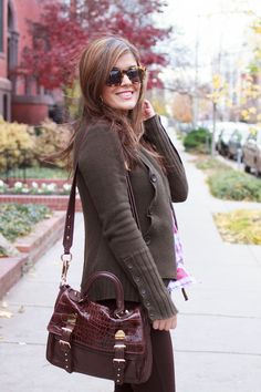 @HighFashion4Less sporting a satchel from to #Marshalls