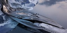 Antarctic Research Facility, Zaha Hadid's Studio at the University of Applied Arts in Vienna.