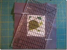 Tip for Bordering Polaroid Quilt Blocks from Busy Bee Quilt Shop
