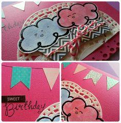 crafts postal cumpleaños detalles