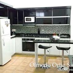 Cozinhas modernas por Cocinas Integrales Olmedo Ortiz Sierra